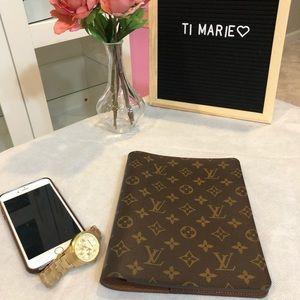 Louis Vuitton agenda notebook cover
